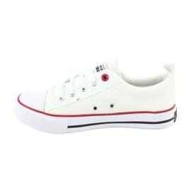 American Club Vita amerikanska LH25 Knuten sneakers 2