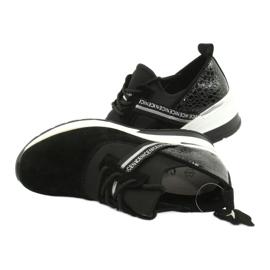 Filippo Slipony lädersportskor DP1388 / 20 BK Nice 4