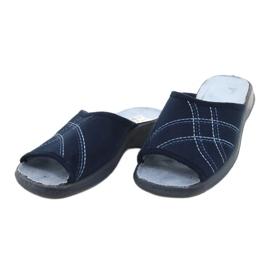 Befado kvinnors skor pu 442D147 blå 3