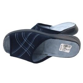 Befado kvinnors skor pu 442D147 blå 5