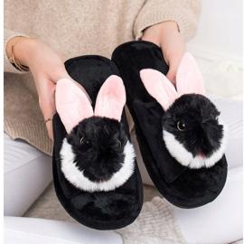 Bona Bunny tofflor svart 4