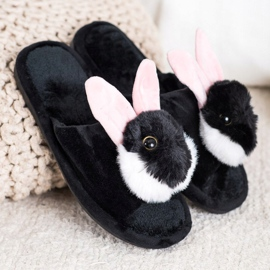 Bona Bunny tofflor svart 1