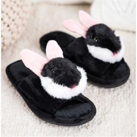 Bona Bunny tofflor svart 2