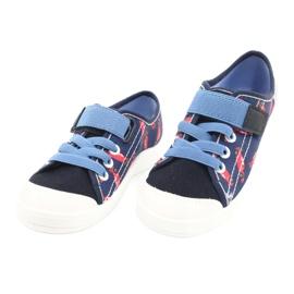 Befado barnskor 251X160 röd marinblå blå 3