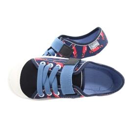 Befado barnskor 251X160 röd marinblå blå 5