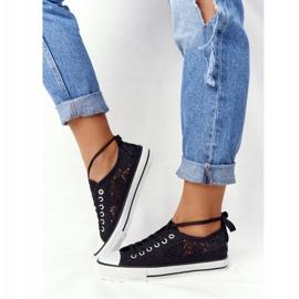 FB2 Candice Sneakers för svarta spetsar för kvinnor 6