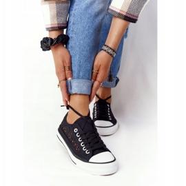FB2 Candice Sneakers för svarta spetsar för kvinnor 4