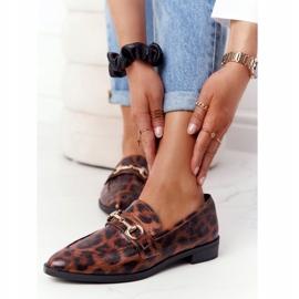S.Barski Eleganta Loafers för kvinnor S. Barski Leopard brun 3