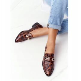 S.Barski Eleganta Loafers för kvinnor S. Barski Leopard brun 2