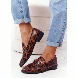 S.Barski Eleganta Loafers för kvinnor S. Barski Leopard brun 4