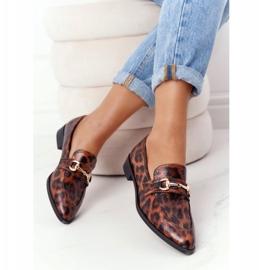 S.Barski Eleganta Loafers för kvinnor S. Barski Leopard brun 5