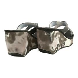 Ipanema 83071 Lipsick-remmar VII-kiltofflor för kvinnor svart grå 3